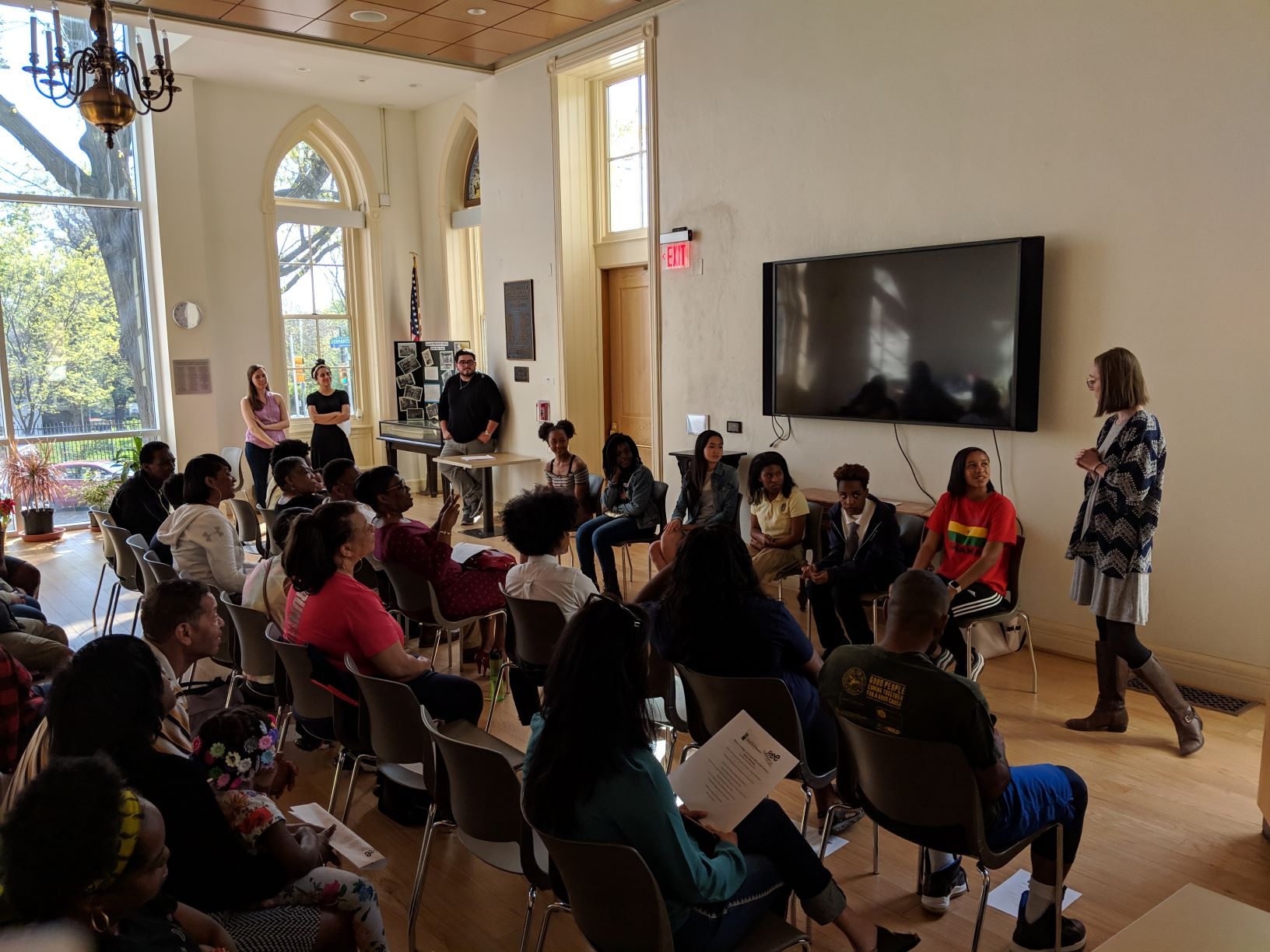 Philadelphia Young Playwright's Library Residency, which received grant from the Mayor's Fund in its 2018 cycle.